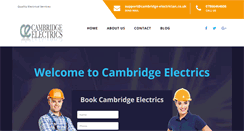Preview of cambridge-electrician.co.uk